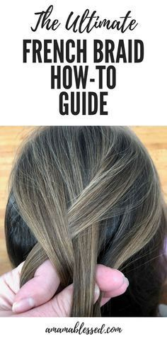 This step by step French braid guide will help you create the perfect French bra… – Pigtail Hairstyles French Braid Short Hair, Easy French Braid, French Braid Pigtails, Pigtail Braids, French Hair, Braids For Short Hair, French Braids, French Plait Tutorial, French Braid Tutorials