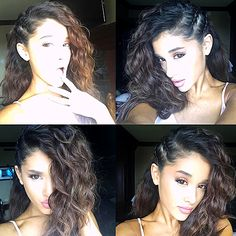 Ariana Grande Shows Off Her Natural Curls on Instagram: See the Photos - Us Weekly