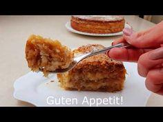 Μια γρήγορη συνταγή για μηλόπιτα χωρίς αυγά! 5 μήλα και 3 φλιτζάνια! - YouTube Apple Pie Recipes, Quick Recipes, Cake Recipes, Kitchen Recipes, Cooking Recipes, German Cake, No Cook Desserts, Sweet Tooth, French Toast