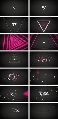 STORYBOARD - motion design vœux 2012 - Romain Cousin