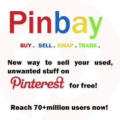 Sell, buy or trade for free.Follow me to be added to group or contact me  *Pinbay US* or *Pinbay UK*.   ***Repin, invite friends***
