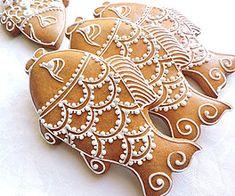 Dekorácie - Medovníkový kaprík 15 cm - 8595524_ Iced Cookies, Biscuit Cookies, Cake Cookies, Sugar Cookies, Cupcakes, 3d Christmas, Christmas Dishes, Christmas Gingerbread, Gingerbread Cookies