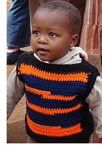 Knitting patterns to donate to aids children in Africa.