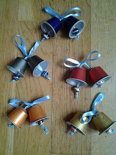 Campanitas de cápsulas Nespresso | par analabores