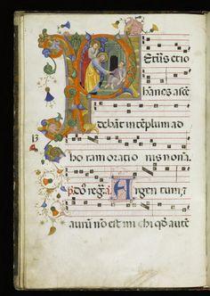 Cenni di Francesco di Ser Cenni (Italian, active 1369-1415) (Artist) PERIOD ca. 1380 (Medieval-early Renaissance) MEDIUM parchment (Manuscripts & Rare Books) ACCESSION NUMBER W.153