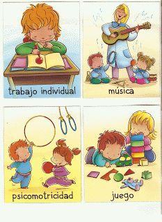 Beatriz: maestra de infantil: RUTINAS Preschool Education, Preschool At Home, Preschool Activities, Kids Routine Chart, Your Teacher, Classroom Decor, Kindergarten, Clip Art, Teaching