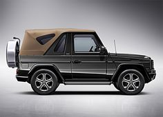 """Mercedes-Benz Says Goodbye to the G-Class Cabriolet with the Final Edition: Originally introduced in Mercedes-Benz's """"G-Wagen"""" has long been the favorite SUV of Mercedes G500, Mercedes Jeep, Mercedes G Wagon, Mercedes Benz G Class, G Class Amg, Daimler Ag, Benz S, Luxury Cars, Dream Cars"""
