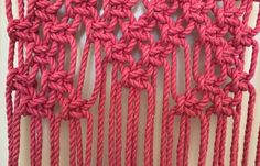 Whether it's for Valentine's Day or just to add a boho touch to your home, this macrame heart wall hanging is precious and easy to make. Macrame Wall Hanging Patterns, Macrame Plant Hangers, Macrame Patterns, Braided Hairstyles For Wedding, Wedding Updo, Braided Updo, Prom Hairstyles, African Hairstyles, Macrame Design