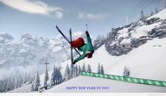 Happy new year amazing winter wish