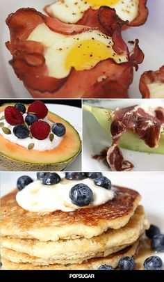 Low-carb, high-protein breakfasts for every diet. #breakfast #recipes #healthy #sunday #recipe