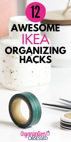 If you are short on space, then you need to check out these 12 Ikea Organizing hacks. Ikea has the best organization pieces and I am sharing all my favorites in one post. These brilliant hacks will make your life so much easier and transform your space! #organizing #organizingideas #homeorganization #ikeahacks #ikeaorganization #ikeaorganizationideas