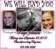 FIND PAIGE JOHNSON!!!