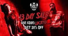 13 DAY SALE  Use discount code - 'LUCKY13' - for 30% OFF your full order - ends midnight 26th of January.www.crmc-clothing.co.uk | WE SHIP WORLDWIDE #13 #sale #darkwear #altwear #unlucky #lucky #unluckyforsome #lucky13 #unlucky13 #discount #discountcode  #alternativegirl #alternativeboy #alternativeteen #fashionofinstagram #fashionstatement #altfashion #fashion #stylegram #stylefashion #fashionoftheday #dailyfashion