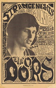 The Doors hero, the doors jim morrison, butterflies, concert postersmus, rock posters, 60s poster, birthdays, postersmus poster, music concert