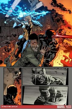 All New X-Men 1 Unlettered Preview  Stuart Immonen