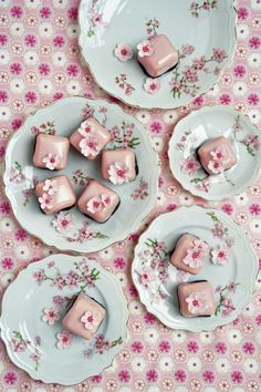 Cherry Blossom Bites ∙ Recipe by Cake Chic on Cut Out + Keep