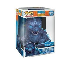 Funko POP! Godzilla vs. Kong (Godzilla City Lights) Walmart Exclusive Pre-Order | eBay Vinyl Toys, Funko Pop Vinyl, Godzilla Vs, Walmart, Marvel, Shoe Deals, Baseball Cards, City Lights, Neon