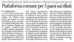 Dal Corriere . - Meeting Braila UUD Erasmus+