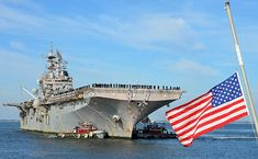 The amphibious assault ship USS Iwo Jima (LHD 7) returns to Naval Station Norfolk after a nine-month deployment to the U.S. 5th and 6th Fleet areas of responsibility.
