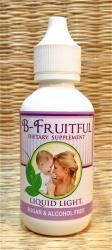 B-Fruitful Herbal Formula: Designed to provide hormonal balance to the menstruating woman desiring regular cycles that provide a good healthy environment for fertility.