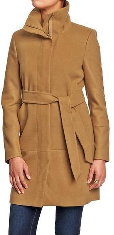 Old Navy Women's Long Belted Coats