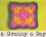 365 granny squares - have done something similar to this before (with larger squares so that you don't have to make and join 365 of them, but this is a neat idea) - patterns linked on site