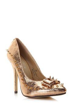 f5c28540790 Lilliana Chic Rebel Spiked Heels   Cicihot Heel Shoes online store  sales Stiletto Heel Shoes