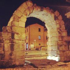 Porta Montanara in Rimini, Emilia-Romagna