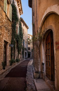 The medieval village of Saint Paul de Vence, Alpes Maritimes, Provence, Cote d'Azur, France