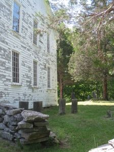 Long Society Meeting House and cemetery, Preston, Connecticut