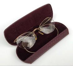 df99d431ded Vintage Eye Glasses 12K Gold Filled Frame Ladies Glasses
