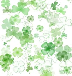 St. Patrick's Day Presets for Photoshop in Green and Gold and Plaid: Shamrock Brush Set
