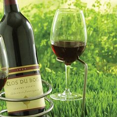 Steady Sticks Outdoor Wine Glass Holder (Set of 2) at Wine Enthusiast - $14.95