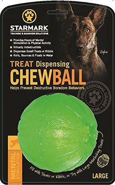 Treat Dispensing Chew Ball, Large