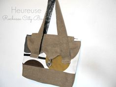 Rochasse City Bag, created by Heureuse Gifts and Accessories, https://www.etsy.com/people/labelleheureuse?ref=si_pr