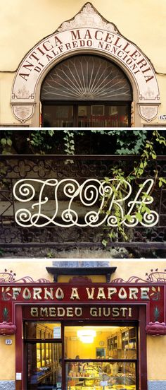 This month, the new book Grafica della Strada: The Signs of Italy documents Fili's obsession with Italian lettering, collecting pictures she's taken of restaurant, shop, hotel, and street signs from all over the country. Photo: Louise Fili