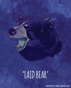 Image of Laid Bear Chicago Bears, Digital Illustration, Super Bowl, How To Draw Hands, Wilderness, Prints, Movie Posters, Fans, Painting