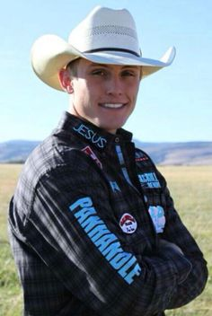 I want to go to Vegas to see him at the NFR!