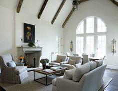 Interior design by James Michael Howard (US).   Source James Michael Howard