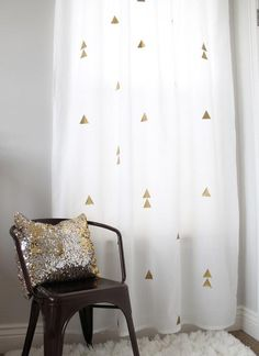 5 façons DIY de personnaliser des rideaux achetés au magasin