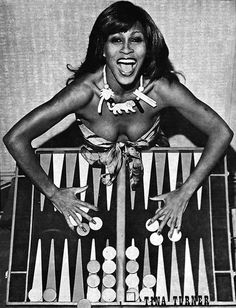 TINA TURNER appearing on the cover of the September 1979 Las Vegas Backgammon Magazine.