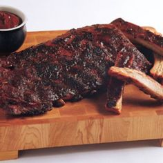 Kansas City Sweet-and-Smoky Ribs…