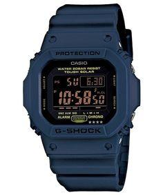 Casio G Shock G5600NV 2 Navy Blue Limited Color Series Tough Solar Blue