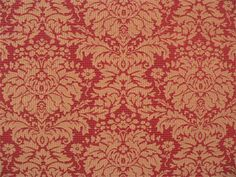 Laurel Red/Gold | Online Discount Drapery Fabrics and Upholstery Fabric Superstore!