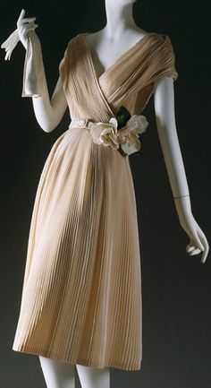 Partie Fine dress by Christian Dior Haute Couture, S/S 1951~Image © The Metropolitan Museum of Art.