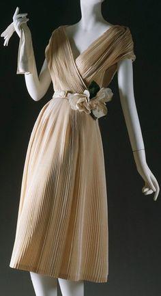 Partie Fine dress by Christian Dior Haute Couture, S/S 1951~Image © The Metropolitan Museum of Art.