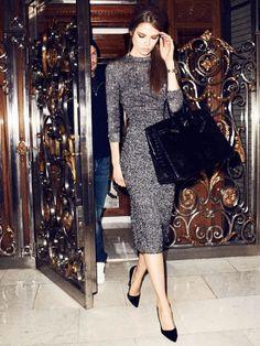 Caroline Brasch Nielsen by Terry Richardson for Vogue Paris, december 2013 january 2014