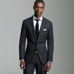 the grooms' suit