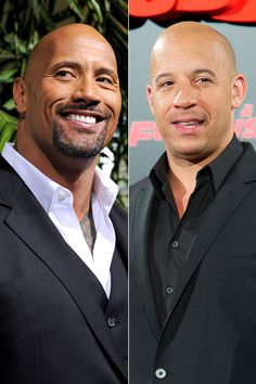 Dwayne Johnson or Vin Diesel? I will take both!