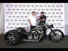 Interview with Kreater Custom Motorcycles on his Trike @ 2012 AMD World ...